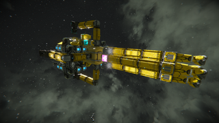 Deep Core Mining Vessel