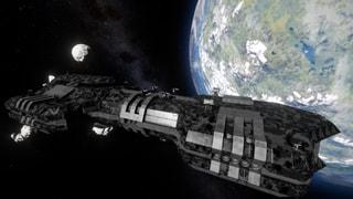 Atlas Heavy Transport Frigate