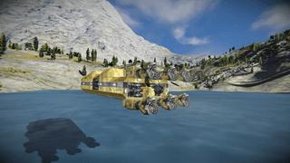 Atmospheric Mining Vessel