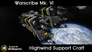 Warscribe Mk. VI [Highwind Support Craft]