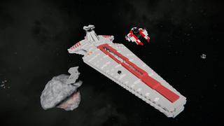 updated Venator stardestroyer,w interior
