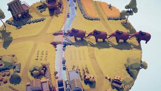 mammoths vs village