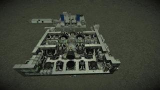 Aqua Dean Workshop Engine for all large ships 0