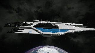Mass Effect Systems Alliance Crusier