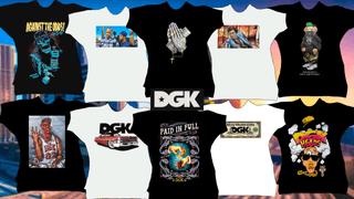 DGK t-shirt pack (81)