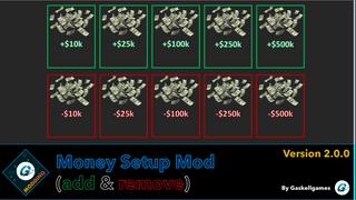 Money Setup Mod