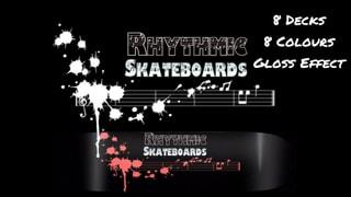 Rhythmic Skateboards Splatter Series