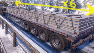 Stepdeck Semi-Trailer QuadAxle Improved