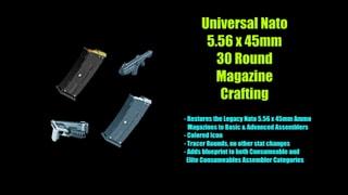 Universal Nato 556 x 45mm 30 Round Mag Crafting