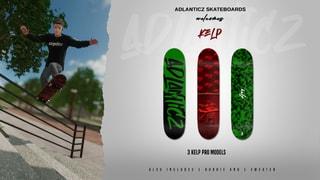 Adlanticz Skateboards welcomes Kelp
