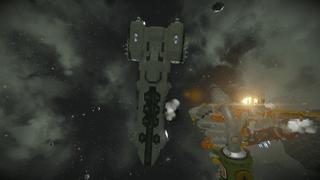 GreenCorp. Volant Class Frigate