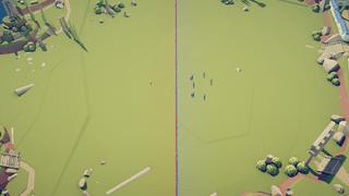 Minecraft battle