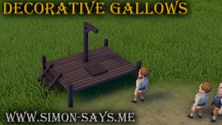 Decorative Gallows