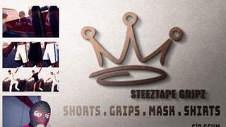 Steeztape Gripz - New Gear/Face Mask Drop