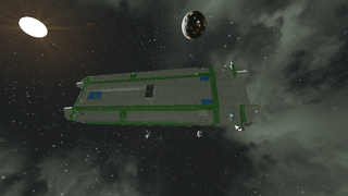 Old Empire Carrier Hulked