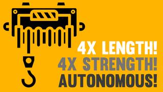 4x Autonomous Winches