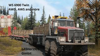 Western Star 6900 TwinSteer Trailer (AWD | AWS)