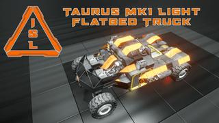 ISL - Taurus MK1 RO-34 Light Flatbed Truck