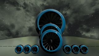 Spinning V-Tol Thrusters Pack(Factory Flames)