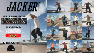 JACKER Pursuit Of Happiness pack