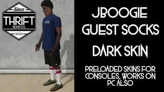 Thrift CONSOLE - JBoogie Socks - Dark Skin Pack