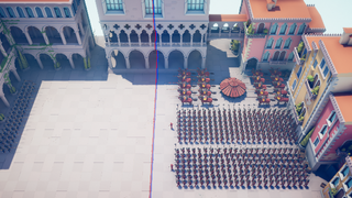 Defeat this massive army with unlimited gold