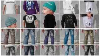 BIG PACK (20 Items) Mahagoni Clothes