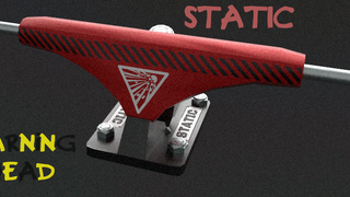 Static Warning Ahead Pro Truck