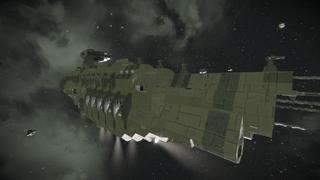DX9 Mastodon Battlecruiser