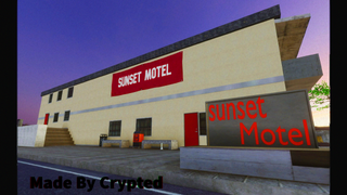 Sunset Motel By Crypted