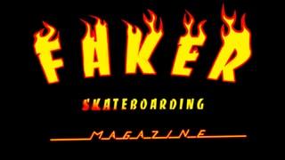 Faker Skateboarding Magazine T-shirt