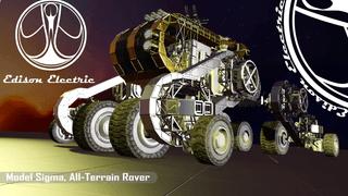 Edison Electric Model Sigma All-Terrain Rover