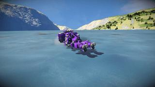 Atmospheric Mining Ship