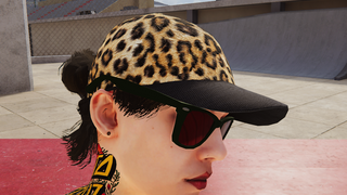 Female Leopard Hat