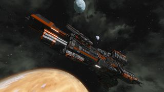MCRN Donnager in Orbit