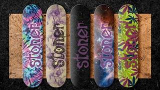 Stoner Skaboards: Logo Boards