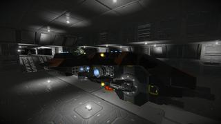 MCRN LIV - Saber Interplanetary Fighter