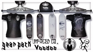 Voodoo Trucks x Unfaced Pack