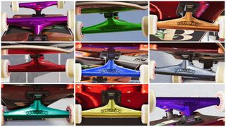 Authority Trucks BubbleGraff 9 Colors