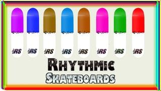 Rhythmic Skateboards White&Colour; Pack.