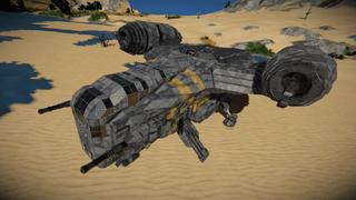 Star wars Razor Crest Updated