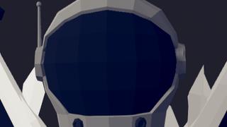 Alien in space suit
