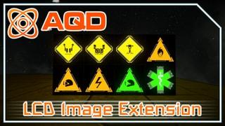 AQD - LCD Image Extension