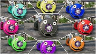 Etaks Creepy 9 Colors