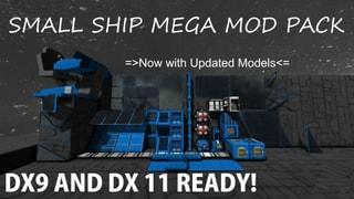 Small Ship Mega Mod Pack