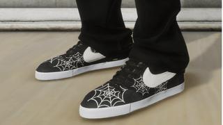 Custom NIKE SB BLAZER - Spider Web