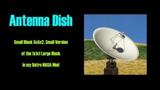 Small Block Antenna Dish 5x5x2