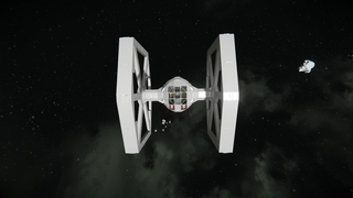 STAR WARS Galactic Empire Tie fighter