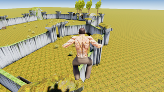 Braden's ruin playground