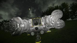 Mars Surface Heavy Duty Miner